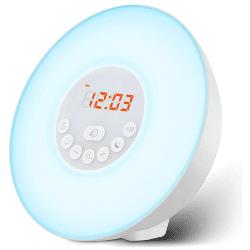 fitfort quiet alarm clock