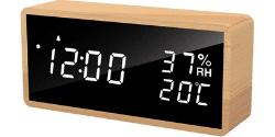 flysocks digital quiet alarm clock