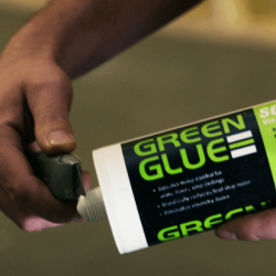 a tube of green glue