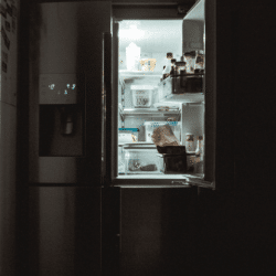 a noisy refrigerator
