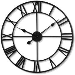 haitang large silent wall clock