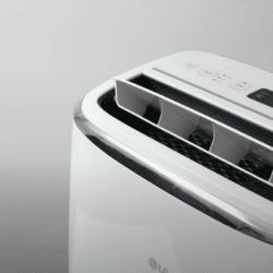 A quiet air conditioner (white)