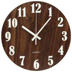topkey night light wall clock